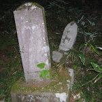 手打ち中華一心 - その他写真:遺跡の石碑