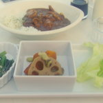 cafe mimosa - シーフードカレーセット
