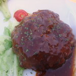 cafe mimosa - ハンバーグステーキ