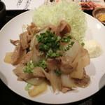九州 熱中屋 - 生姜焼き