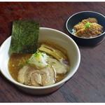 らー麺とご飯の たかぎ - 醤油らー麺セット(ご飯物は選べます)