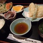 24092232 - 日替り定食(いか天ぷら)