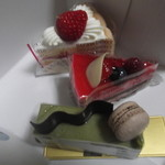 ストロベリーキャンドル - 美味しいケーキを、いただきました~♡