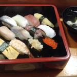 嶋寿司 - ランチのおまかせにぎり