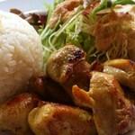 シギグラカフェ - ベトナムチキンプレート