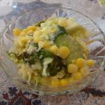 タージクティ - ナマステセットのサラダ