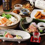 火no山 - 料理写真:飲み放題付きのご宴会コースは¥5000より!いつでもご相談ください。クーポン利用で更にお得に!