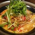 24094107 - マスカルポーネ風味の海鮮汁なし坦々麺980円