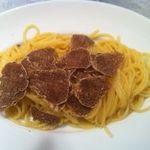 ビストロ ド ラ シテ - イタリア産白トリュフのスパゲッティ