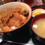 ぶあいそう - 牡蠣カレー丼