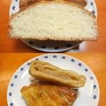 アルテリア・ベーカリー - メロンパン/アップルパイ断面