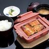 Unagikappoukitamikado - 料理写真:梅ご膳(蒲焼4切+ご飯+味噌汁+漬物)
