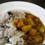 べりカフェ つばさ・游 - 料理写真:黒豆ごはんのカレー