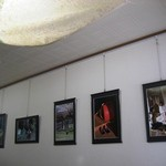べりカフェ つばさ・游 - 内観写真:たくさんの写真が飾られていました