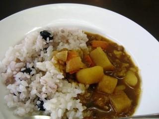 べりカフェ つばさ・游 - 黒豆ごはんのカレー