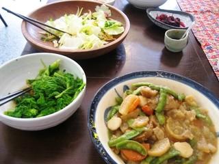 べりカフェ つばさ・游 - 有機野菜のお総菜