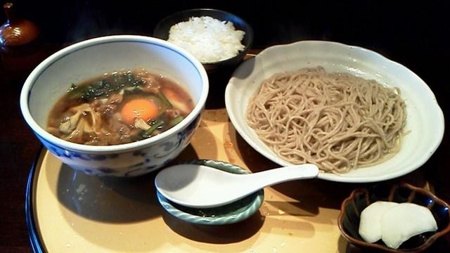 そば酒肴 三喜 - 温盛(あつもり) 980円