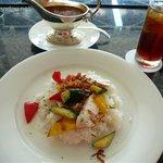 葉山ホテル音羽ノ森 カフェテラス - 夏野菜と鶏肉のカレー