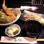 241819 - 満腹どんぶりセット 海老と舞茸天丼
