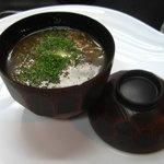 頓珍館 - 豚タンのリヨン風スープ