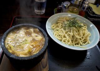 つけ麺 丸和 - 牡蠣味噌つけ麺
