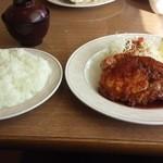 レストラン ポポロ - 生姜焼定食 900円