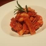 TRATTORIA Linea 7 - トリッパのトマト煮込み トスカーナ風
