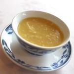 花梨 - 北海道産とうもろこしのスープ☆