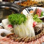 串焼き・魚 新宿宮川 - ズワイ蟹のしゃぶしゃぶ鍋!