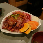 七福神 - ペアセットの肉盛り合わせ