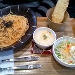 Cafe Shien - 和風明太子のパスタ