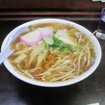 ふけた食堂 - ラーメン大盛り(700円)