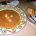 シーサイドリストランテ - トマト・ガーリックスープ