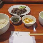 牛たんの豊助 - 料理写真:牛タン得盛り定食