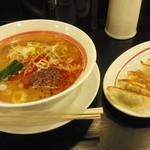 幸楽苑 - 「担々麺」と「餃子」計829円