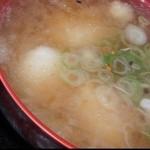 阿蘇山の幸 よろこび - もちもち団子汁(だごじる)、(≧∇≦)2012年1月4日。
