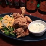 鶏Dining Bird Place - ランチタイムの唐揚げ定食