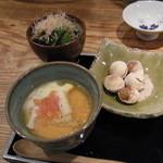 24118888 - 2014.2)銀杏と、滑らかなトマトの茶碗蒸し