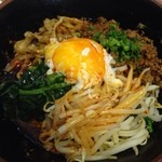 麺処よっちゃん - 汁なし坦々麺(3辛)