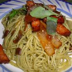 ルイジアナ・ママ - 料理写真:照り焼きベーコンのペペロンチーノ