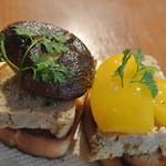 Osteria YOSHI - パテ・ド・カンパーニュ、足柄野菜のグリル