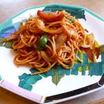カフェ・ド・レッチ - 料理写真:2014.02 イタリアンは鉄板ではありませんでした。