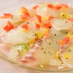 Dining urra - 真鯛のスモーク