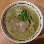 麺屋三郎 - 2014年 2月 木金土限定  牡蠣の醤油らぅめん(950円)
