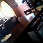 らぁ~めん京 - 相席用のテーブル