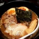 愛宕 - 京鰹濃厚豚骨 YUZU ラー麺+柚子風味(880円)