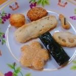 鍵林 - 民話の里の語りべ煎餅 くっつき合い