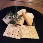 La Bergerie - チーズ盛り合わせ