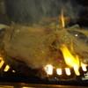 焼肉さかえ - 料理写真:脂がすごくてファイヤー