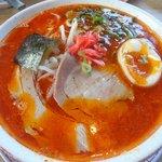 麺堂 香 - 辛とんこつ:600円